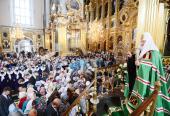 Завершился визит Святейшего Патриарха Кирилла в Смоленскую епархию