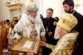 Митрополит Киевский Владимир возглавил в Одессе торжества по случаю 75-летия митрополита Агафангела
