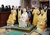 В день памяти святителя Варлаама Махрищского Предстоятель Русской Церкви совершил Литургию в Стефано-Махрищском ставропигиальном женском монастыре