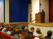 Митрополит Волоколамский Иларион начал чтение спецкурса «История христианской мысли» в НИЯУ МИФИ
