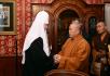 Встреча Святейшего Патриарха Кирилла с настоятелем монастыря Шаолинь