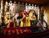 В праздник перенесения мощей святителя Московского Петра Святейший Патриарх Кирилл совершил Божественную литургию в Успенском соборе Кремля