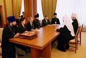 Святейший Патриарх Кирилл встретился с лидерами православных инициатив Молдовы