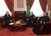 Святейший Патриарх Кирилл встретился с лидером Партии коммунистов Молдовы