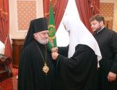 Предстоятель Русской Православной Церкви удостоил епископа Кагульского и Комратского Анатолия ордена святителя Иннокентия