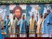 Архиереи из России, Украины и Казахстана приняли участие в торжествах, посвященных Донской иконе Божией Матери