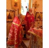 В праздник Усекновения главы Пророка и Предтечи Господня Иоанна Святейший Патриарх Кирилл совершил Литургию в домовом храме Патриаршей резиденции в Переделкине