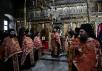 Визит Святейшего Патриарха Кирилла в Грецию. Посещение монастыря Пантократор на Афоне