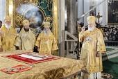 Предстоятель Русской Церкви возглавил торжества по случаю 300-летия Александро-Невской лавры