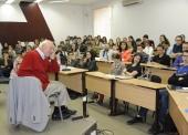 Классик социологии религии, профессор Дэвид Мартин открыл вторую сессию проекта Общецерковной аспирантуры и докторантуры «Религия, наука и общество»