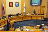 Председатель Синодального отдела по делам молодежи принял участие в работе заседания молодежного парламента Ленинградской области