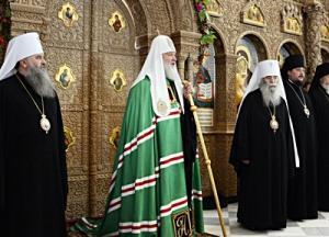 Слово Святейшего Патриарха Кирилла после богослужения в восстановленном Феодоровском соборе Санкт-Петербурга