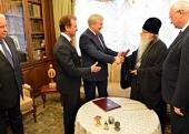Патриарший экзарх всея Беларуси встретился с главой Киевской городской государственной администрации