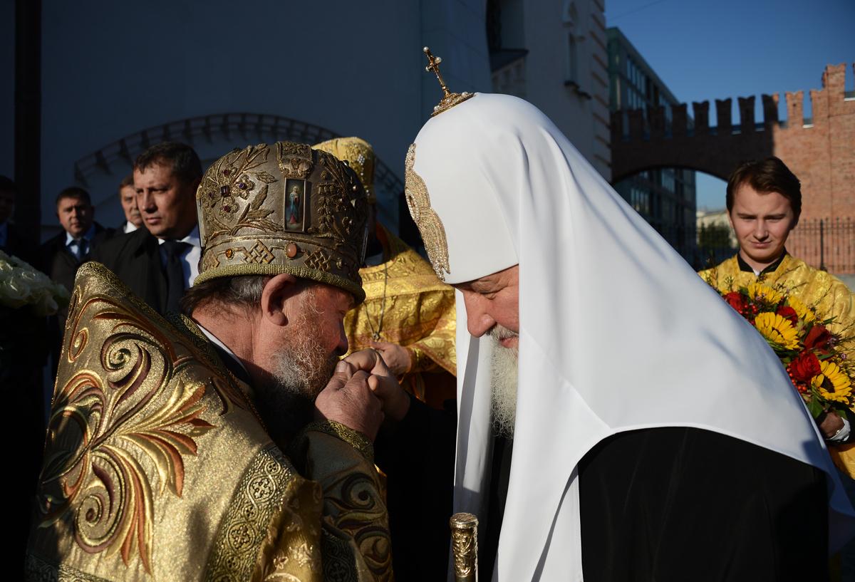 Патриарший визит в Санкт-Петербург. Чин великого освящения восстановленного Феодоровского собора