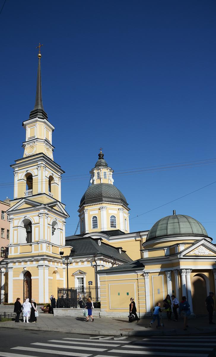 Патриарший визит в Санкт-Петербург. Освящение храма святых праведных Симеона Богоприимца и Анны Пророчицы