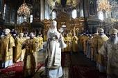 Святейший Патриарх Кирилл освятил восстановленное подворье Оптиной пустыни в Петербурге