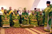 В Муроме прошли торжества по случаю перенесения мощей святых благоверных князей Петра и Февронии в Троицкий Муромский монастырь