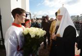Святейший Патриарх Кирилл посетил Покровский храм Ханты-Мансийска