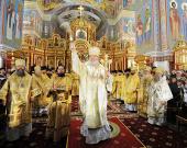 Предстоятель Русской Церкви освятил Воскресенский кафедральный собор г. Ханты-Мансийска