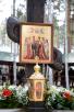 Патриарший визит в Екатеринбургскую митрополию. Освящение закладного камня в основание храма Державной иконы Божией Матери в монастыре Царственных страстотерпцев на Ганиной Яме