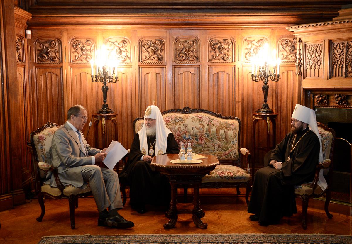 Пасхальный прием в Министерстве иностранных дел России