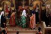 Освящение домового храма Дома ветеранов сцены в Петербурге