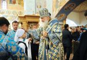 В канун праздника Рождества Пресвятой Богородицы Святейший Патриарх Кирилл совершил всенощное бдение в кафедральном соборе Сургута
