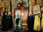 Слово Святейшего Патриарха Кирилла после Литургии в Воскресенском кафедральном соборе г. Ханты-Мансийска