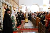 Слово Святейшего Патриарха Кирилла в Успенском соборе подворья Пюхтицкого ставропигиального женского монастыря в г. Когалым