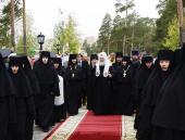 Святейший Патриарх Кирилл посетил подворье Пюхтицкого Успенского монастыря в Когалыме