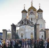 Митрополит Киевский Владимир совершил освящение кафедрального собора Горловской епархии