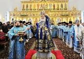 В праздник Рождества Пресвятой Богородицы Предстоятель Русской Церкви освятил Георгиевский храм в Сургуте
