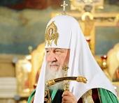 Слово Святейшего Патриарха Кирилла при посещении Петропавловского собора г. Томска