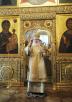 Патриарший визит в Томскую митрополию. Литургия в Богоявленском кафедральном соборе г. Томска