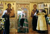 Проповедь Святейшего Патриарха Кирилла после Божественной литургии в Богоявленском кафедральном соборе г. Томска