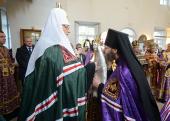 Слово Святейшего Патриарха Кирилла при вручении архиерейского жезла Преосвященному Гермогену (Серому), епископу Мичуринскому и Моршанскому