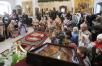 Патриаршее служение в праздник Воздвижения Креста Господня в храме свт. Николая Чудотворца в Пыжах. Хиротония архимандрита Гермогена (Серого) во епископа Мичуринского и Моршанского