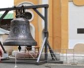 В Новоспасский ставропигиальный монастырь доставлен тысячепудовый колокол