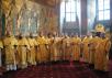 Патриаршее служение в Новоспасском ставропигиальном монастыре. Хиротония архимандрита Романа (Корнева) во епископа Рубцовского
