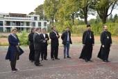 Память мучениц Веры, Надежды, Любови и матери их Софии отпраздновали в православном приходе г. Эшо под Страсбургом