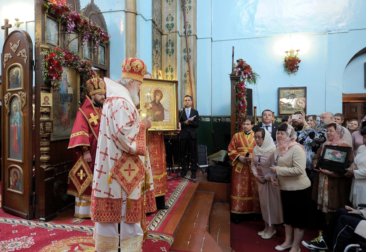 Божественная Литургия в Покровском храме г.Харбина