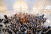 Божественная литургия в здании бывшего кафедрального собора г.Шанхая в честь иконы Божией Матери «Споручница грешных»