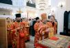 Патриарший визит в Китай. Литургия в здании бывшего собора в честь иконы Божией Матери «Споручница грешных» в Шанхае