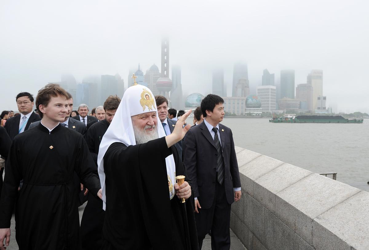Посещение набережной Вайтань в Шанхае