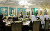 ЖУРНАЛЫ заседания Священного Синода от 2 октября 2013 года
