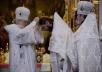 Патриаршее служение в Великую субботу в Храме Христа Спасителя