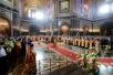 Великая вечерня в Храме Христа Спасителя в день праздника Светлого Христова Воскресения