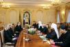 Встреча Святейшего Патриарха Кирилла с Князем Монако Альбертом II