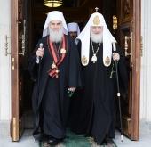Святейший Патриарх Кирилл посетит Сербскую Православную Церковь