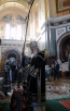 Утреня Великого пятка с чтением 12-и Страстных Евангелий в Храме Христа Спасителя